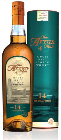 Isle Of Arran Single Malt Scotch 14 Year